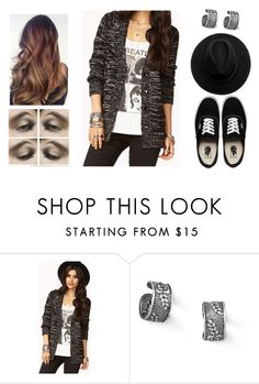 """""""Walking down the street..."""" by teodoramaria98 ❤ liked on Polyvore featuring Forever 21, Vans and BillyTheTree"""