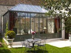 Serre en fer forgé 3x3 aix & terra | green house design | Pinterest