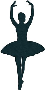 View Design: ballerina silhouette This one in white also Frame Ballerina Silhouette, Silhouette Cameo Projects, Silhouette Files, Silhouette Design, Silhouette Online Store, Ballerina Party, Scan And Cut, Button Art, Ballet Dancers
