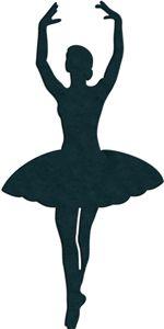 Silhueta Design Store - Ver Projeto # 13902: Bailarina silhueta