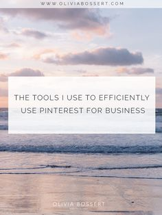 The Tools I Use To Efficiently Use Pinterest For Business Social Media Quotes, Social Media Tips, Social Media Marketing, Business Tips, Online Business, Photography Business, Photography Tips, Blog Topics, Pinterest For Business