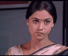 Simran - Annoying Look - Tamil GIf
