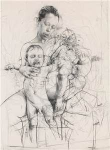 Jenny Saville exhibition in Oxford