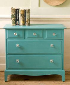 DIY project: Paint dresser for baby girl 2's nursery-- Option 4: The simplest option but very pretty. I can always have fun with drawer pulls! Update: This is the one I've decided on, and it will go in C's room... we'll be leaving all the nursery decor intact. Found some great pulls from Anthropologie that will look great!
