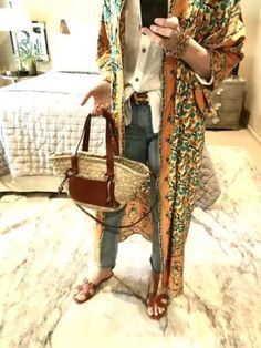 What Would Holley Wear: Orange Crush   Home with a Twist H&m Jeans, Orange Crush, Preppy Style, Everyday Fashion, Bohemian Style, Straw Bag, Personal Style, Crushes