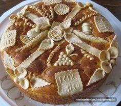 Srećna slava Aranđelovdan!!! — Coolinarika Savory Donuts Recipe, Donut Recipes, Cake Recipes, Cooking Recipes, Bosnian Recipes, Croatian Recipes, Meze Platter, Pie Crust Designs, Holiday Bread