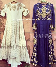 Classic Anarkali Collections by Suruchi Parakh couture | Fashionworldhub