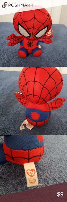 Shop Women s Ty Beanie Babies size OS Other at a discounted price at  Poshmark. Description  Ty Beanie Babies Spider-Man 2017 Comic book  character Sold by ... 09dbf9e22d