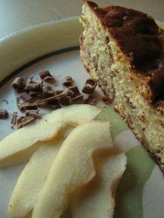 Torta ricotta e pere con cioccolato gianduja http://blog.giallozafferano.it/ricetteconamore/torta-ricotta-e-pere-con-cioccolato/