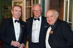 In this photo, AquaNew CEO and Watt-Ahh inventor, Rob Gourley (center) is standing beside Board Director for the John and Mable Ringling Museum of Art Foundation Inc., Patrick Hennigan (left), and President of New College of Florida, Donal O'Shea (right). This was a Black Tie event for the 2015 Modern Pentathlon this past Saturday at the Charles Ringling Mansion in Sarasota. #pentathlon #sarasota