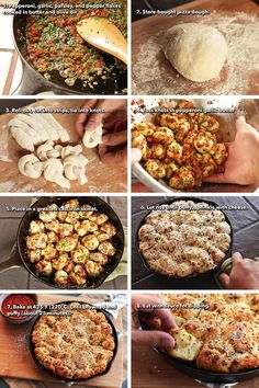 Pull-apart pepperoni garlic knots. I'm gonna make these with pillsbury GF pizza dough, and add spinach.