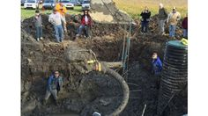 woolly mammoth was likely 40 years old when it probably was killed by humans.