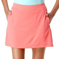 """GRAND SLAM Golf Skort NEW NWT Womens SMALL Ladies Textured Skirt w/ Shorts S 4 6 #GrandSlam #Golf BRAND NEW WITH TAGS skort by GRAND SLAM, size SMALL. It is a """"Sugar Coral"""" textured golf skirt that has built in shorts underneath with 2 pockets and a tag free design #GolfSkort #Skort"""