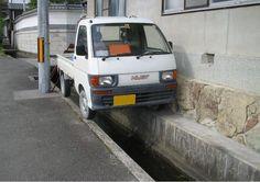 CHINA - parcheggi al millimetro