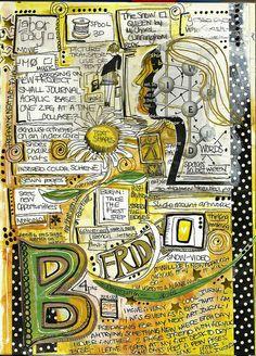 1-3-14 art journal | sketchbookbuttons