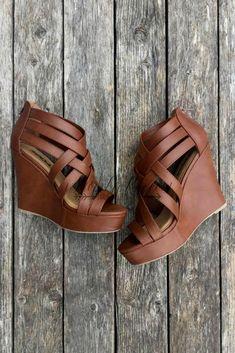 SHOW ME OFF WEDGE high heels stilettos classy