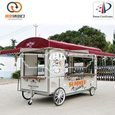 Source Street Food Kiosk Cart For Sale Hamburger/coffee snack food cart outdoor beverage vending van Kiosk Design, Food Truck For Sale, Trucks For Sale, Food Trucks, Food Cart Design, Mobile Food Cart, Food Kiosk, Modern Food, Outdoor Food