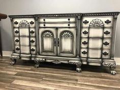 Maybe something like this for end tables I eventually find… Maybe something like this for end tables I eventually find… – Mobilier de Salon Hand Painted Furniture, Distressed Furniture, Funky Furniture, Refurbished Furniture, Paint Furniture, Plywood Furniture, Repurposed Furniture, Unique Furniture, Furniture Projects
