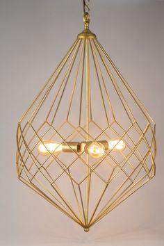 3-Light Foyer Pendant