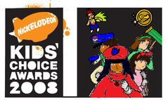 Nickelodeon Kids Choice Awards 2008 Logo part 3