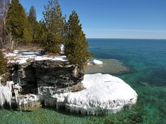 Cave Point-Door County