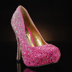 I'm thinking these would be great for a pink and black wedding :)  RIO-FUCHSIA by BENJAMIN ADAMS