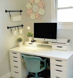 42 Inexpensive Craft Room Ideas From Ikea 48 Craft Room Ikea Alex Linnmon Craft . - 42 Inexpensive Craft Room Ideas From Ikea 48 Craft Room Ikea Alex Linnmon Craft Room 4 - Home Office Design, Home Office Decor, Office Designs, Office Room Ideas, Ikea Room Ideas, Desk Office, Closet Office, Office Spaces, Office Chairs