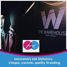 #fineprint #caymanislands #innovator #qualitybrand #unique #custom
