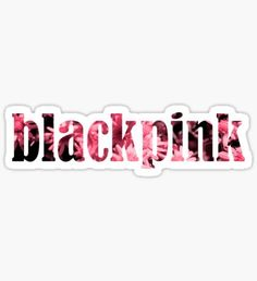 Blackpink stickers featuring millions of original designs created by independent artists. Pop Stickers, Sticker Ideas, Kpop, My Journal, Asd, Jennie, Overlays, Doodles, Wallpapers
