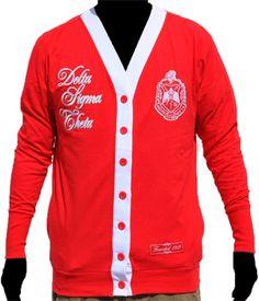 Delta Sigma Theta Cardigan $35