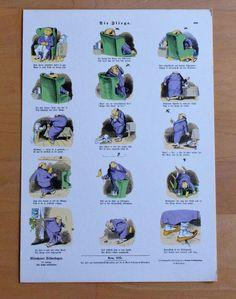 Die Fliege - Karikatur Humor - Druck aus den 70er Jahren Reproduktion Art Print Humor, Ebay, Printing, Pictures, Kunst, Humour, Funny Photos, Funny Humor, Comedy