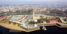 Устройство Петропавловской крепости | Достопримечательности Санкт-Петербурга
