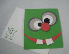 Monster Birthday card-Stampin'Up by Miechelle Weber www.stampinu.wordpress.com