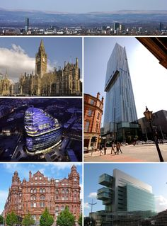 city of manchester - Google Search Manchester Love, Manchester Town Hall, Manchester City Centre, Manchester England, Midland Hotel, Tens Place, Great Britain, Big Ben, Places To Visit