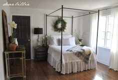 Our Guest Bedroom  by Dear Lillie