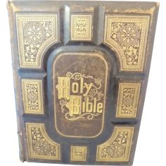 Cassell's Illustrated Bible - 900 + ENGRAVINGS - c1870 Old and New Testaments Offered by Ruby Lane shop Premier-Antiques