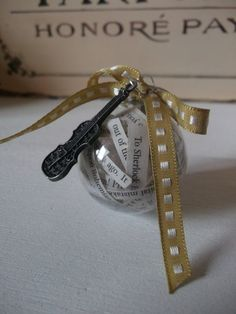 Sherlock Holmes Christmas Tree Ornament Bauble by TheBlackEmporium, £5.00