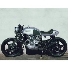 Honda Cafe Racer Build from in Munich Cx500 Cafe Racer, Inazuma Cafe Racer, Cafe Racer Motorcycle, Motorcycle Outfit, Motorcycle Types, Women Motorcycle, Motorcycle Quotes, Motorcycle Helmets, Scrambler