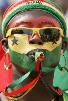 Ghana world cup fan