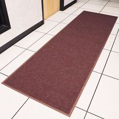 Design by AKRO Chevron Doormat Color: Green, Size: 3' x 5'