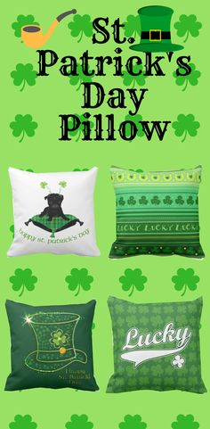 Rest your head on one of Zazzle's St Patrick's Day decorative & custom throw pillows. St Patricks Day, Decorative Throw Pillows, Holidays, Gifts, Accent Pillows, Holidays Events, Presents, Holiday, Favors
