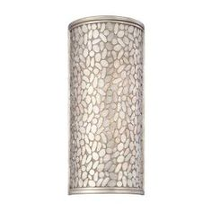World Imports, Amano Collection 2-Light Silver Wall Sconce, 23090-YOW at The Home Depot - Mobile