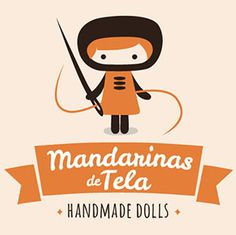 Logo Mandarinas de Tela #mandarinasdetela