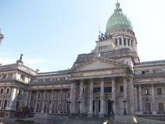Cúpulas y Arquitectura de Buenos Aires - congreso nacional-argentina