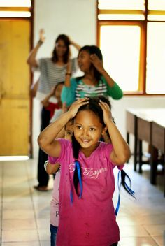 Dancing time at Program Ubud.