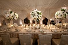 "WEDDING HEADTABLE | ... than an elegantly appointed ""Head Table""? 