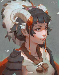 Ram by GUWEIZ on DeviantArt