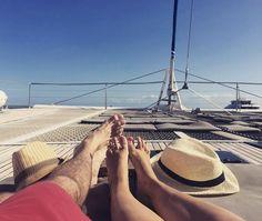 Cruise style #australia #australianway #australianstyle #panamahat #beautiful #beauty #cruise #oceanspirit #oceanspiritcruises #lovely #greatbarrierreef #aussie #amazing #catamaran #boat #sun #sunshine #sohot #queensland @acarneros #style #coralsea #pacificocean by _bymyside_ http://ift.tt/1UokkV2