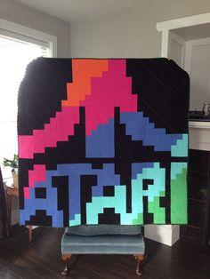 Atari Logo Quilt | Flickr - Photo Sharing!