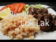 Boeuf Lok Lak facile - YouTube